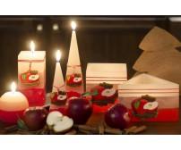 Rustic Jablko + škorica sviečka
