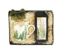 Darčekový balíček Zimná krajina zelený