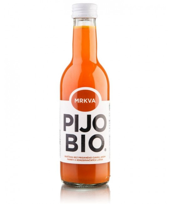 Bio šťava PIJO BIO - MRKVA 250 ml