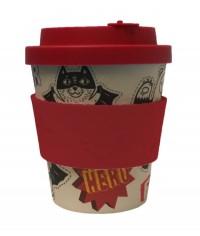 """""""Superhero Fuel"""" bambusový pohár 240ml"""