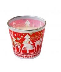 Voňavá sviečka v skle CHRISTMAS SCANDINAVIA 115G
