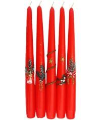 Kónická Vianočná sviečka