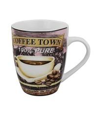 Coffee Town 0,3l hrnček na kávu porcelán