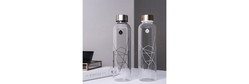 Fľaše EQUA sklenené