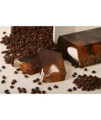 Ručne robené mydlo Káva