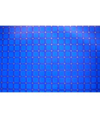 Baliaci papier Modré štvorce