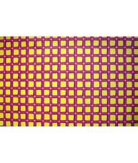 Baliaci papier Žlté štvorce