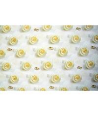 Baliaci papier Svadobný - Krémové ruže