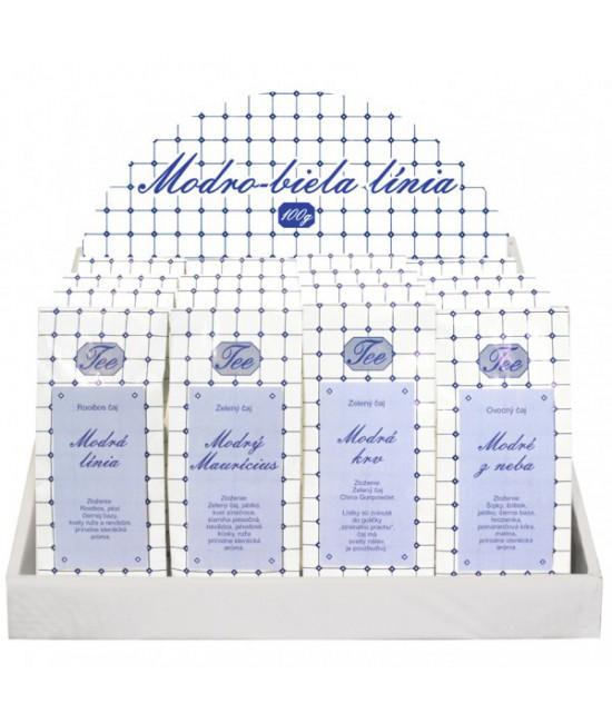 Čaj Modro-biela línia: Ovocný čaj Modré z neba 100 g