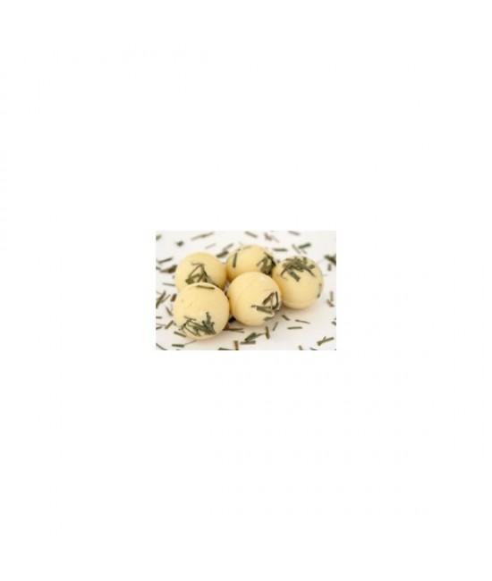 Bambucká krémová guľočka - Citrónová tráva (lemon grass)