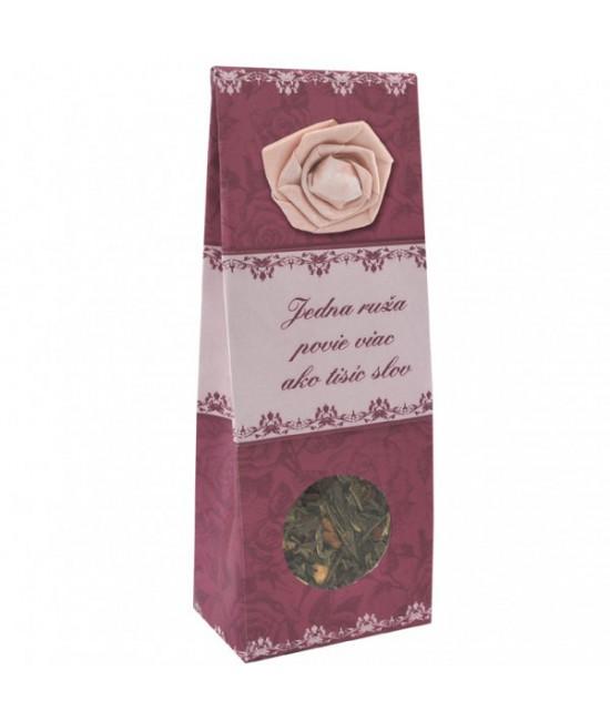 Čaj Jedna ruža povie viac ako tisíc slov - ovocný 50 g