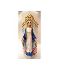Sviečka kváder Panna Mária (1)