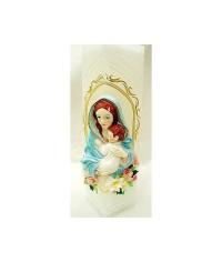 Sviečka kváder Panna Mária (3)