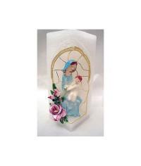Sviečka kváder Panna Mária (4)