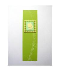 Záložka do knihy Zelená - tulipán