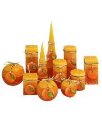 Rustic Pomaranč sviečka