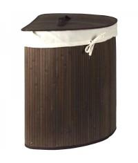 Bambusový kôš-rohový hnedý