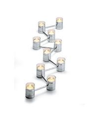 Light by light teleskopický svietnik na čajové sviečky set/10ks, 130cm