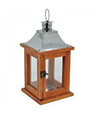 Lampáš drevený obdĺžnikový - bledo hnedý