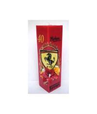 """Jubilejná sviečka kváder """"Ferrari"""""""