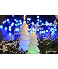 Dióda Stromček s hviezdičkami sviečka