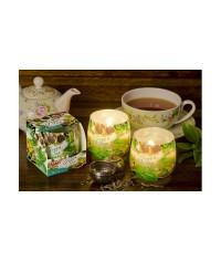 Ozóna sklo Zelený čaj sviečka