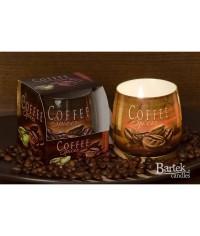Ozóna sklo Coffee sviečka