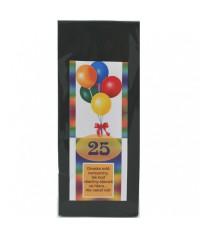 Darčekový čaj 25. narodeniny