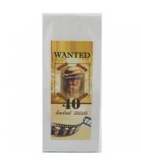 Darčekový čaj 40. narodeniny Veľa šťastia
