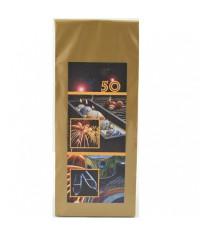Darčekový čaj 50. narodeniny Sviečka