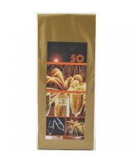 Darčekový čaj 50. narodeniny Ohňostroj