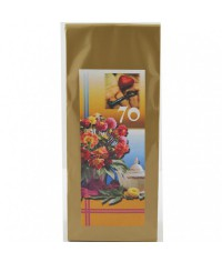 Darčekový čaj 70. narodeniny Kytica