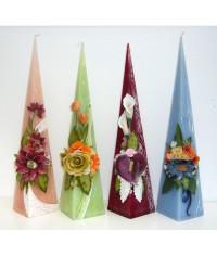 Jubilejná sviečka  maxi pyramída 0,5 m