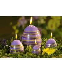 Vajíčko Rings sviečka 60/80 mm