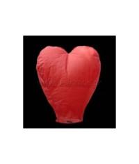 Lietajúci lampión srdce
