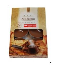 Čajové maxi sviečky voňavé (6 ks v krabičke)