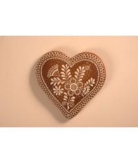 Medovník - veľké zdobené srdce
