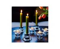 Svietnik obojstranný na kónické a čajové sviečky