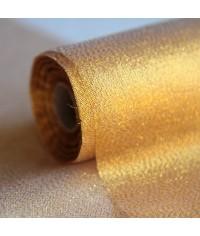Organza zlatá 47 cm x 9,00 m