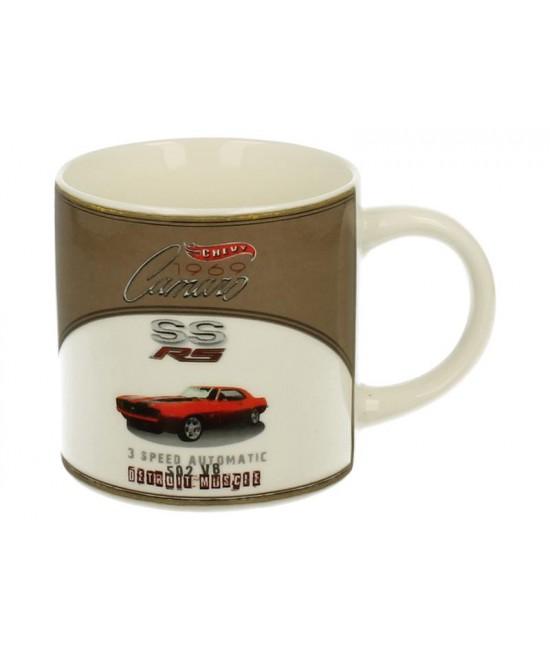 Hrnček RetroCar C. 0,43l porcelán