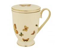 Hrnček bylinkový Aster 0,24l porcelán