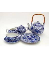 Phoenix 21dielna porcelán čajová súprava