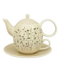 Emília keramika čajová súprava pre 1 osobu