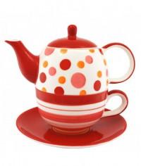 Melody keramika čajová súprava pre 1 osobu