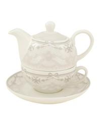 Paríž porcelán čajová súprava pre 1 osobu