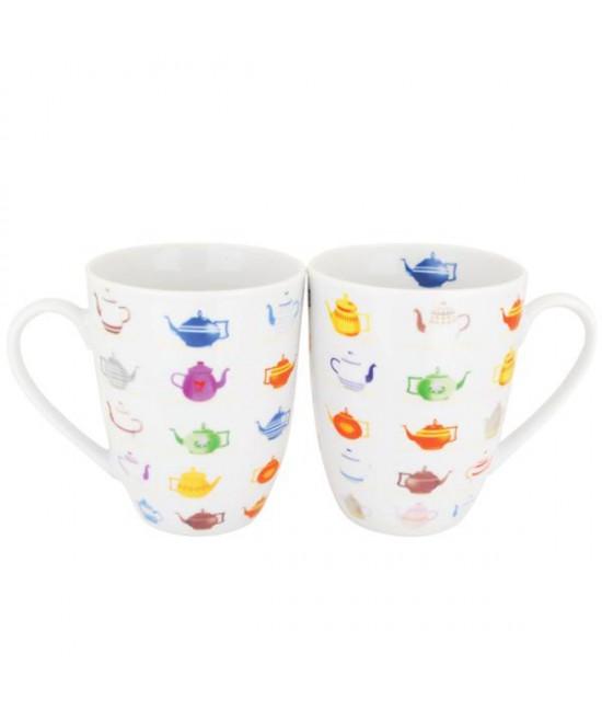 Čajníčky porcelán čajová súprava pre 2 osoby
