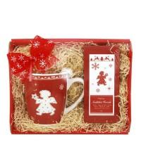 Darčekový balíček červený Čaro Vianoc