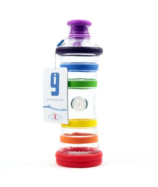 i9 informovaná fľaša DÚHOVÁ