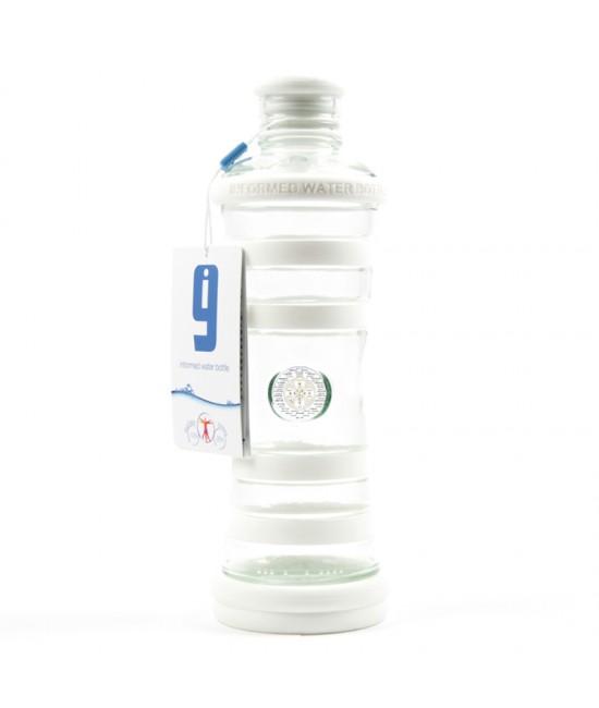 i9 informovaná fľaša BIELA