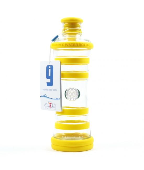 i9 informovaná fľaša ŽLTÁ